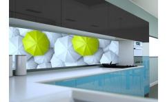 Panel szklany do kuchni PARASOLKI