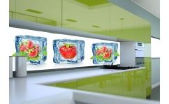 Panel szklany do kuchni ICE CUBE IV