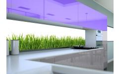 Panel szklany do kuchni TRAWKA III