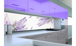 Panel szklany do kuchni LAWENDA VI