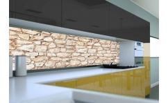 Panel szklany do kuchni OZDOBNY KAMIEŃ