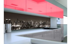 Panel szklany do kuchni BLACK NEW YORK