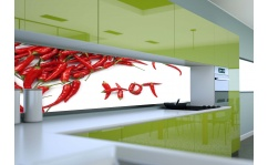 Panel szklany do kuchni HOT PEPPER II