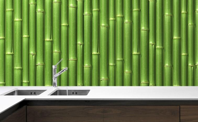 Fototapeta Do Kuchni Bambus Ii
