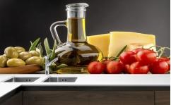 Panel szklany do kuchni OLIWA II