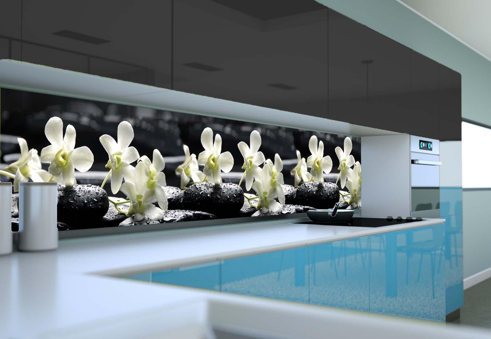 Fototapeta do kuchni ORCHIDEA & STONE  Magic & Style -> Fototapeta Do Kuchnia