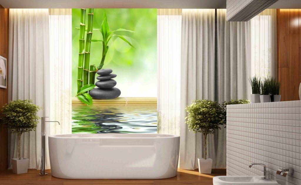 Fototapeta Do łazienki 80x120cm Bambus Spa