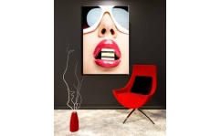 Obraz canvas FASHION LIPS