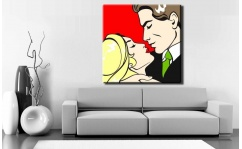 Obraz canvas POP ART LOVERS II