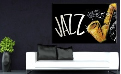 Obraz canvas JAZZ