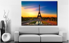 Obraz canvas PARIS SUNSET