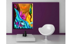 Obraz canvas ABSTRACT WOMAN I