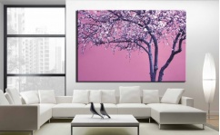 Obraz canvas VIOLET TREE