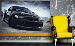Naklejka laminowana BMW M3 IN BLACK