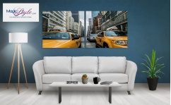 Obraz canvas dyptyk NEW YORK TAXI XD