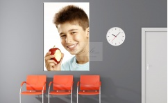 Obraz canvas A SMILE APPLE