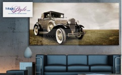 Obraz canvas OLD CAR V