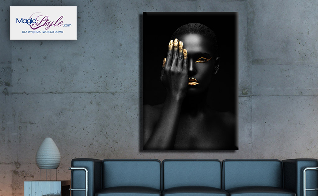 Obraz canvas BLACK WOMAN