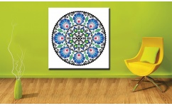 Obraz canvas MANDALA FOLK I