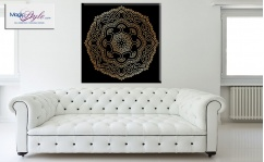 Obraz canvas MANDALA BLACK II