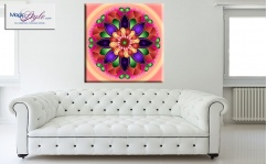 Obraz canvas MANDALA FLOWER ORIENT