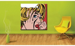 Obraz canvas POP ART CRY