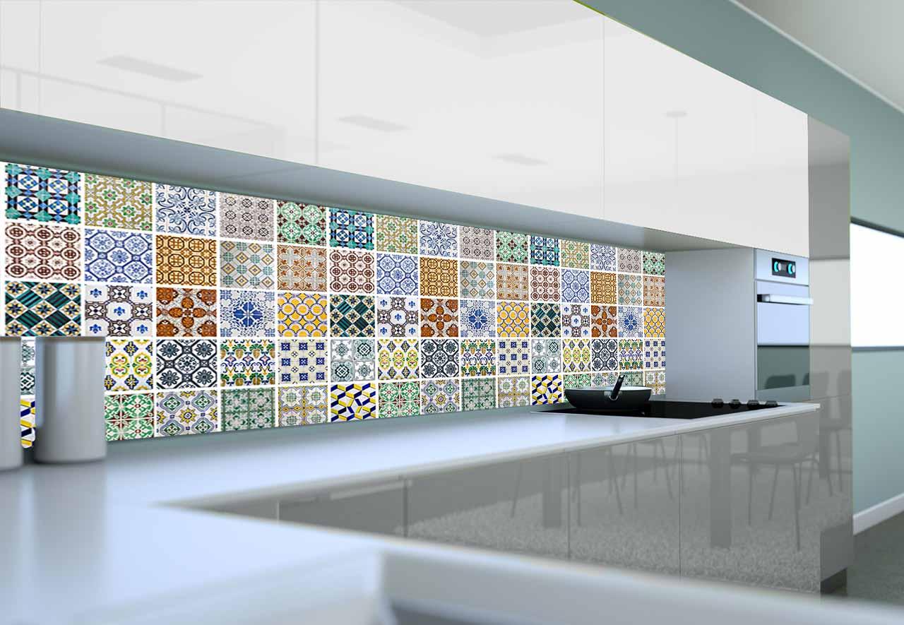 Panel Szklany Do Kuchni Mozaika Marokańska Iv