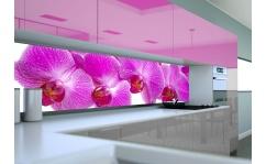 Panel szklany do kuchni RÓŻOWE STORCZYKI