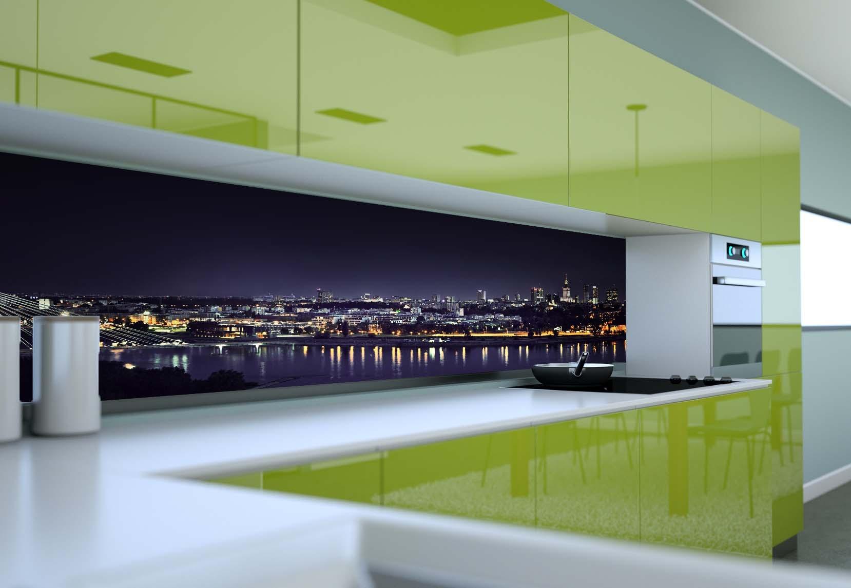 fototapeta do kuchni panorama warszawy magic amp style