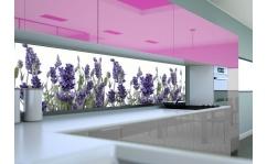 Panel szklany do kuchni LAWENDA V