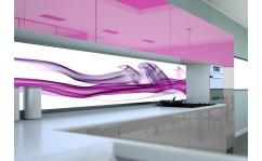 Panel szklany do kuchni FIOLET FANTASY