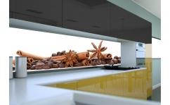Panel szklany do kuchni ZIARNA KAWY IV