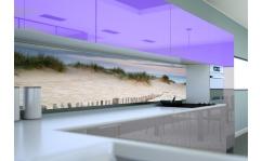 Panel szklany do kuchni WEJŚCIE NA PLAŻĘ