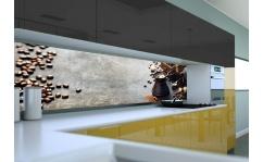 Panel szklany do kuchni DZBANEK DO KAWY