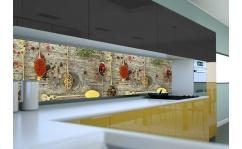 Panel szklany do kuchni PRZYPRAWY IV