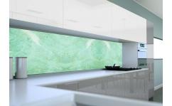 Panel szklany do kuchni SZMARAGD