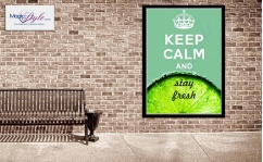 Plakat w ramce KEEP CALM FRESH 50x70cm