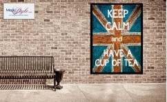 Plakat w ramce KEEP CALM TEA 50x70cm