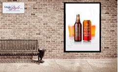 Plakat w ramce KEEP CALM BEER 50x70cm